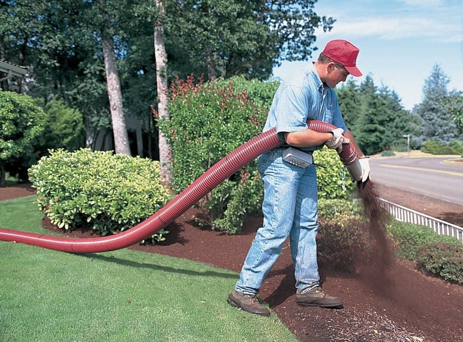 What Is Mulch Blowing?